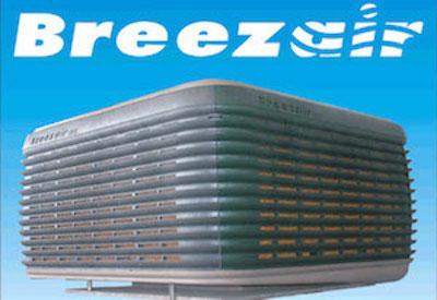 breezair unit with logo