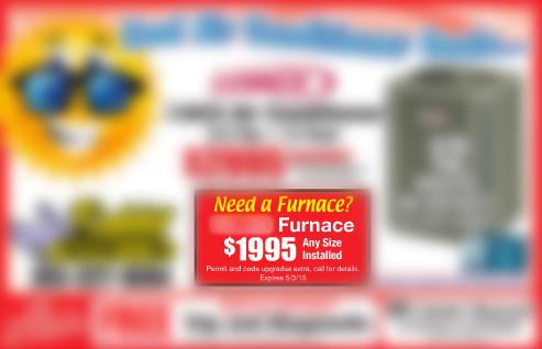 deceptive furnace ad