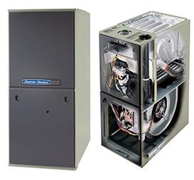 american standard furnace inside