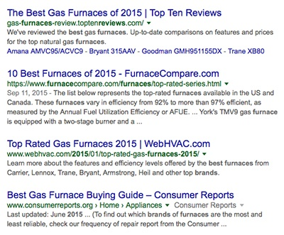 best furnaces search results