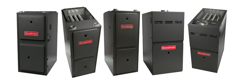 goodman furnaces lineup multiple angles