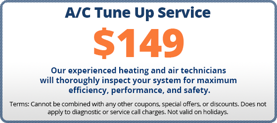 $149 ac tune up coupon